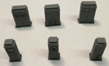 O Scale Lineside Boxes